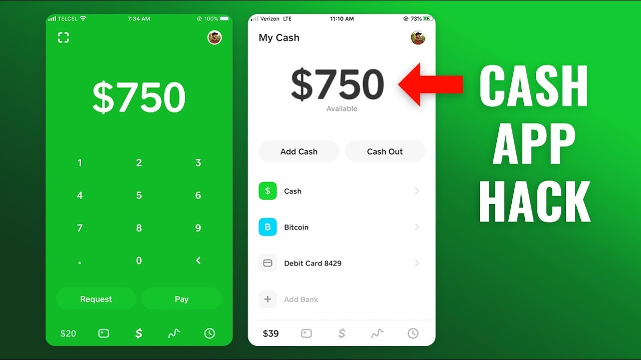 Cash App Hack Don T Try This 750 Free Money Tutorial Youtube