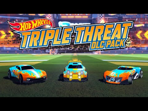Rocket League - Hot Wheels Triple Threat DLC Pack Official Trailer