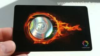 видео Голографические наклейки