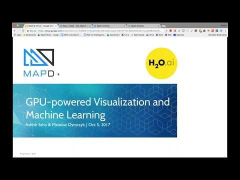 GPU-powered Interactive and Machine Learning