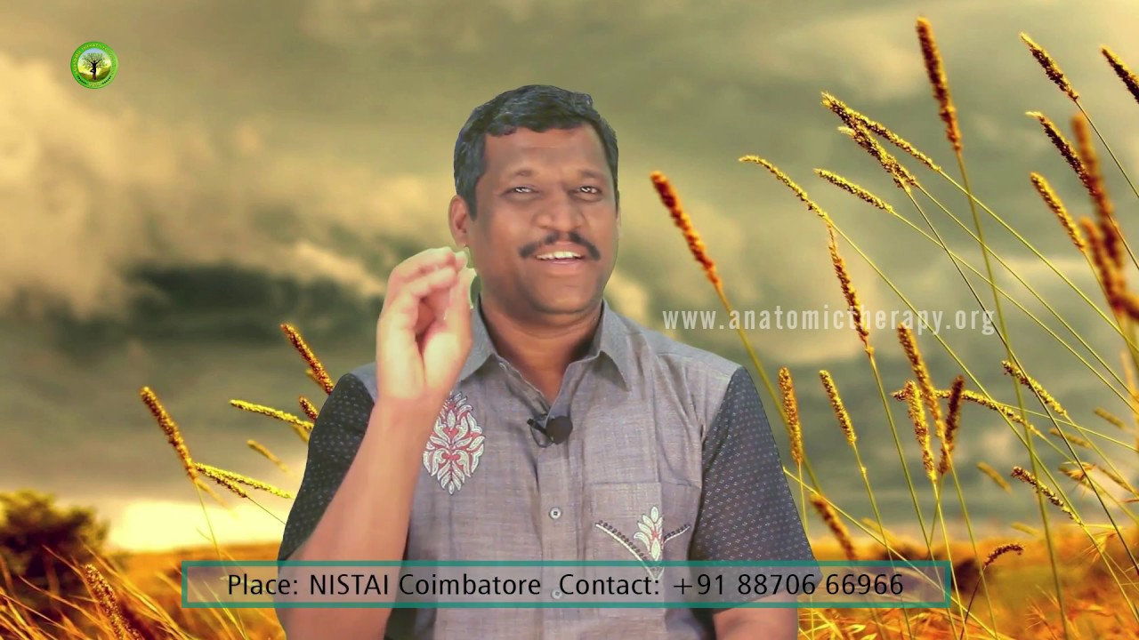 ANATOMIC THERAPY FIVE DAYS CAMP - Healer Baskar (Peace O Master ...