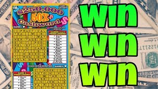 AGAIN? SERIOUSLY? ARE ALL CROSSWORD TICKETS WINNERS? $10 50X CASHWORD TEXAS LOTTERY