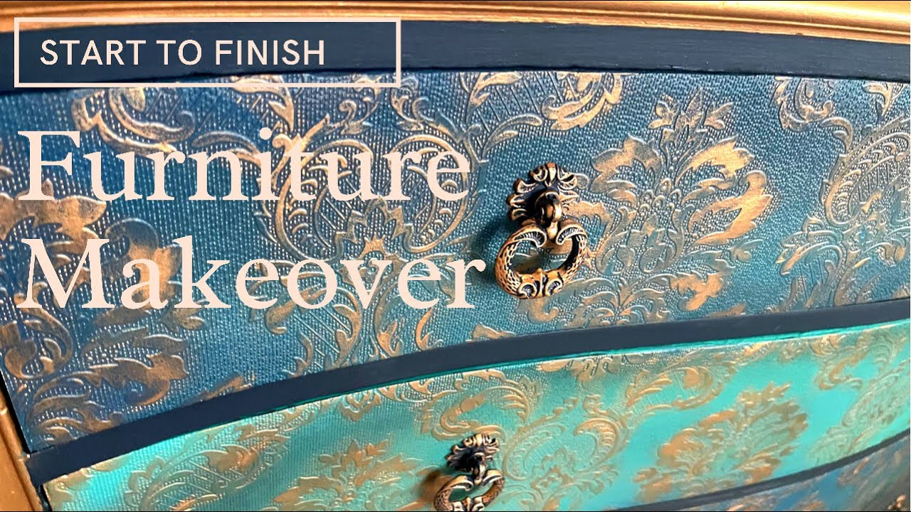 Furniture Makeover | Trash to Treasure Furniture Flip Using Dixie Belle Chalk Mineral Paint