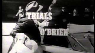 TRIALS OF O'BRIEN opening credits CBS drama