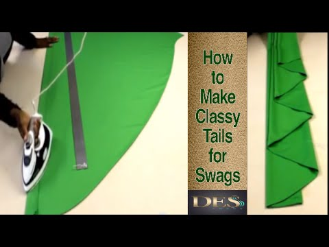 How to make Classy Tails for Swags