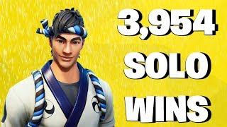 3,954 Solo Wins - Fortnite Battle Royale Live Stream