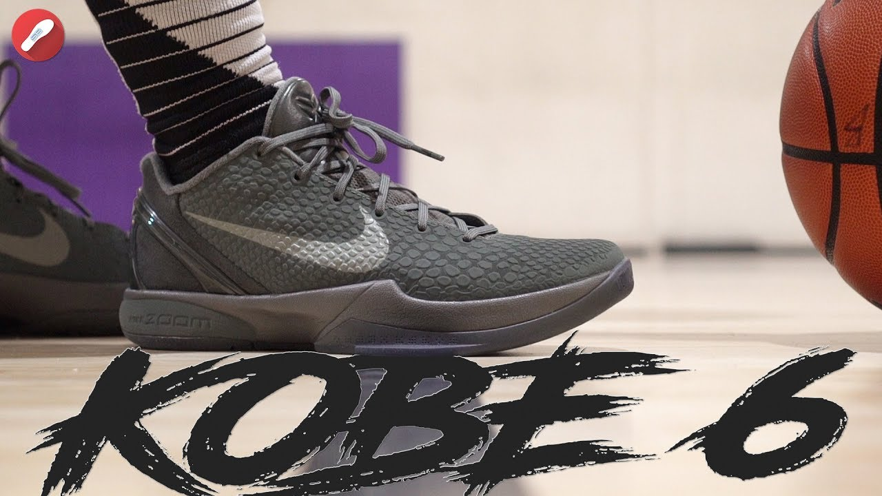 timeless design d84e0 cdad1 Does It Stand the Test of Time   Nike Kobe 6 Fade to Black Performance  Review!