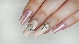 ✨Nude Rose Gold Wedding Nails 💅- femketjeNL