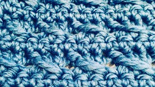 Easy Crochet chunky scarf for beginners