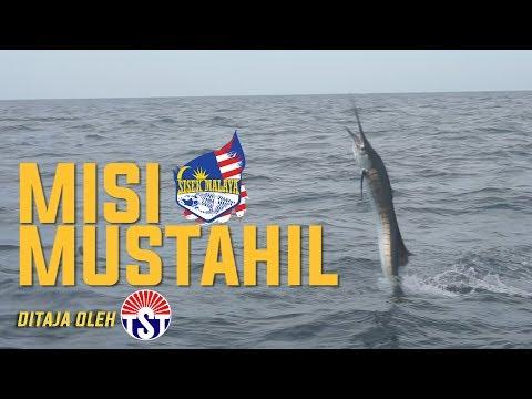 Sisek Vlog - Misi Mustahil (Rompin Sailfish and shark fishing)
