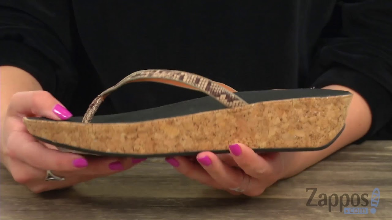 b49ade732885 FitFlop Linny Toe Thong Sandals SKU  9020280 - YouTube