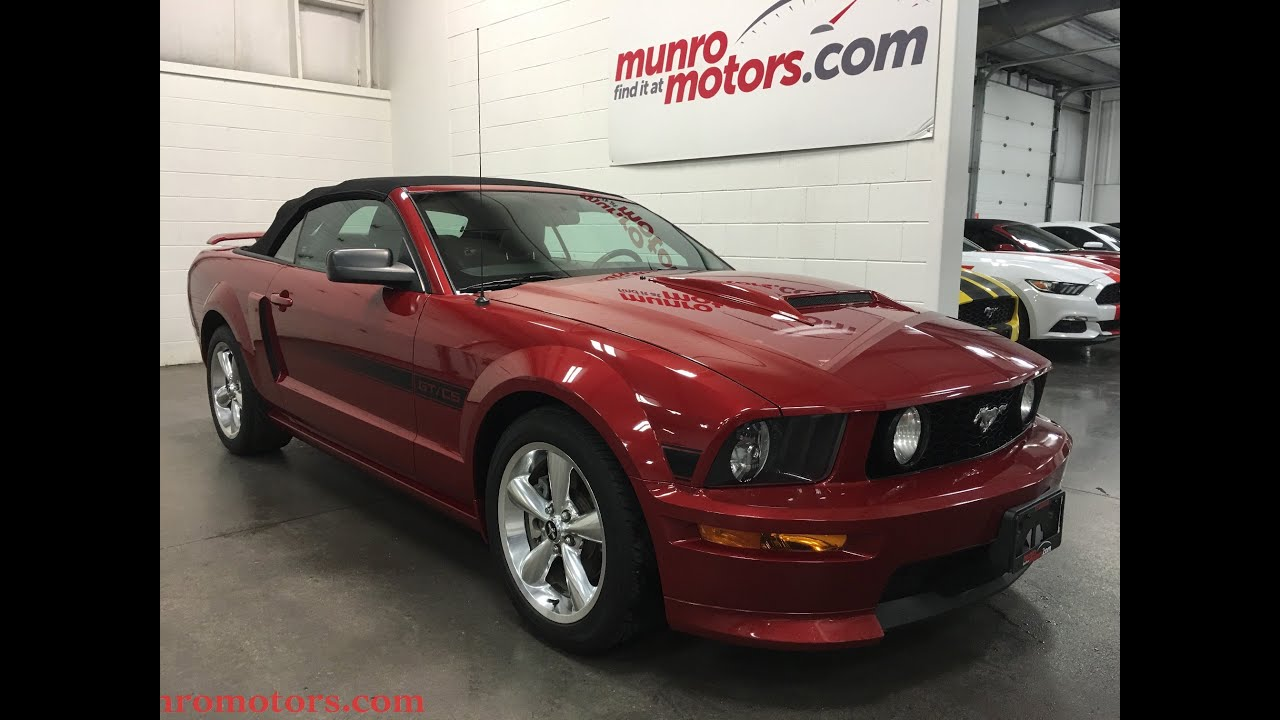 2009 ford mustang gt sold california special convertible munro motors youtube. Black Bedroom Furniture Sets. Home Design Ideas