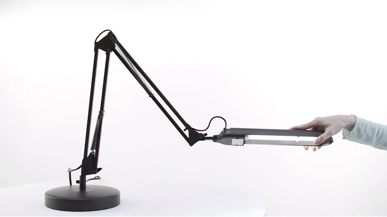 Daylight PL Desk Lamp In Black White YouTube – Daylight Desk Lamp