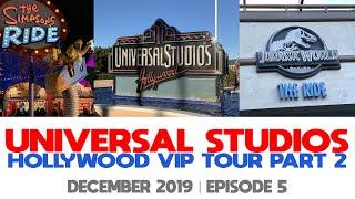 EP5   Universal Studios Hollywood VIP Tour   Part 2   Rides   🚨 Mild Swearing Alert 🚨