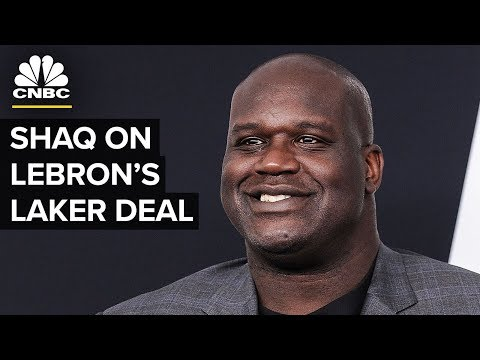 Shaq on LeBron's Lakers Deal And His Business Investments