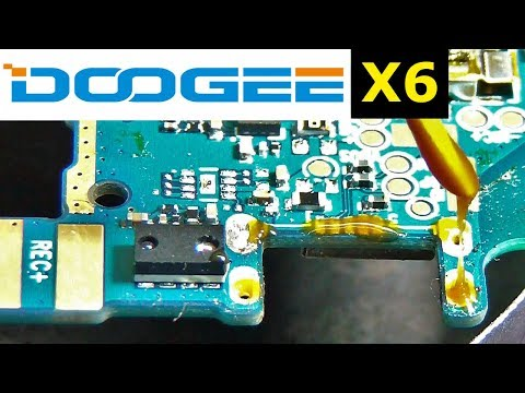 Doogee X6 Replacement Micro USB /  Как заменить коннектор зарядки