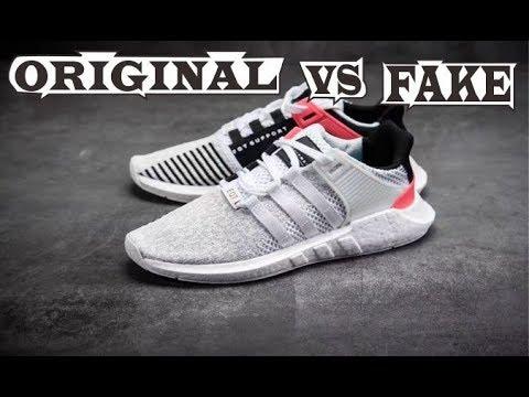 b388e4561a1 Adidas EQT Support 9317 White Red Original & Fake