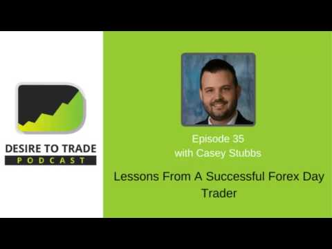 Casey Stubbs: Lessons from a Successful Forex Intraday Trader | Trader Interview (035)