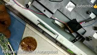 Without cof bonding machine scellor change.  Led Lcd display pcb change without machin Manual bondin