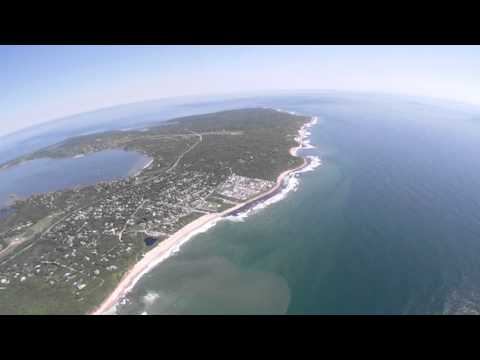 Fly Over Montauk, New York Long Island July 10, 2011