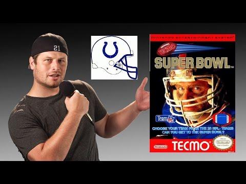 Tecmo Super Bowl - NES - Indianapolis Colts - Tecmo Madison XIII Training