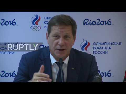 Brazil: 271 Russian athletes permitted to compete in the Olympics, says Zhukov