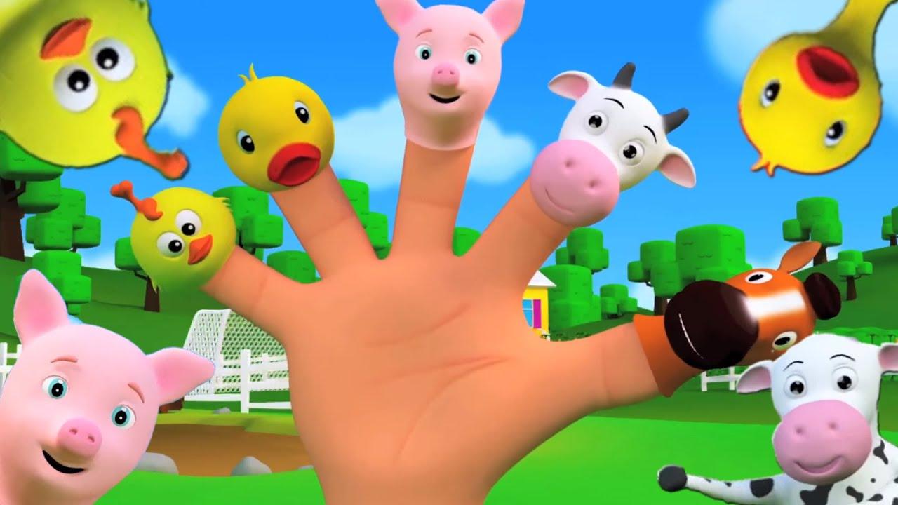 Familia dedo en espa ol para ni os y beb s youtube - Para ninos infantiles ...