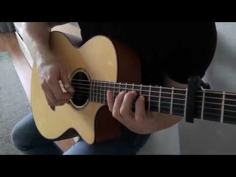 Cinematic Orchestra - Arrival of the birds Fingerstyle guitar cover