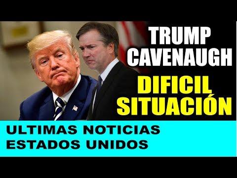 Ultimas noticias de EEUU, TRUMP Y CAVENAUGH ¡PANORAMA SOMBRÍO! 30/09/2018