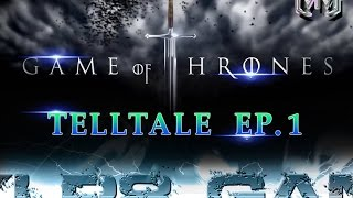 Game of Thrones Telltale Ep. 1 Iron from Ice - Part 1 Good Choice