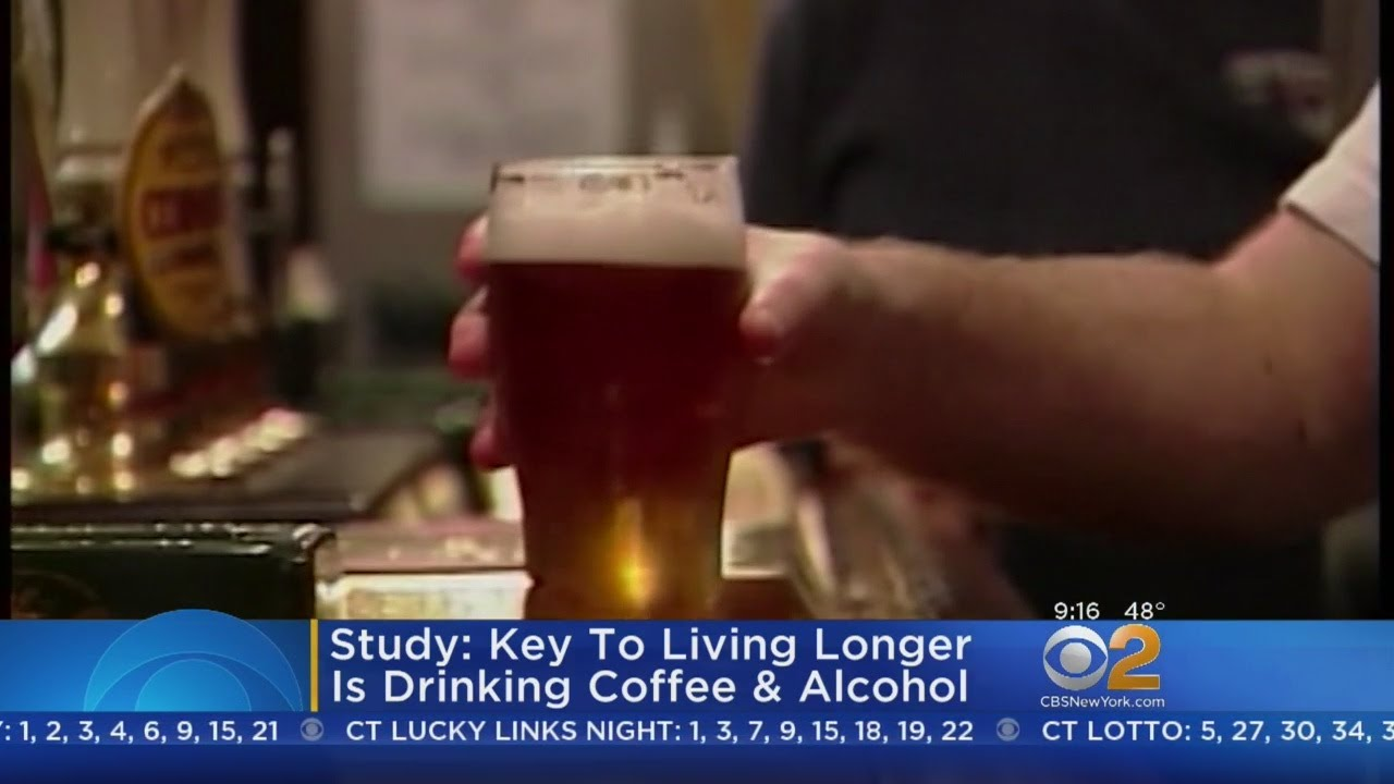 Key To Living Longer Is Drinking Coffee & Booze, Study Says