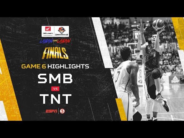 Highlights: G6: San Miguel vs TNT | PBA Commissioner's Cup 2019 Finals