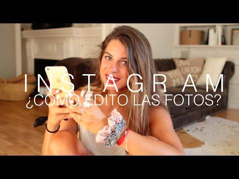 Instagram ¿Cómo edito las fotos? ¿Trucos? ¿Apps?