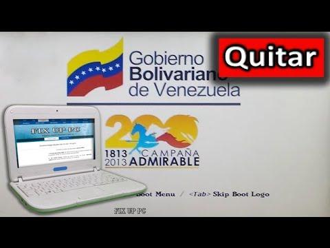 Canaima Colegio: Quitar La Imagen Del Gobierno, Entrar en la BIOS, Sin Errores 2016 [Actualizado]