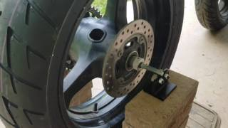 How To Balance Motorcycle Tire