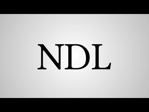 """What Does """"NDL"""" Stand For?"""