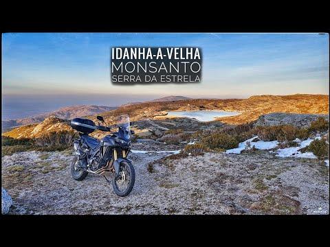 Africa Twin: Idanha-a-Velha, Monsanto, Serra da Estrela