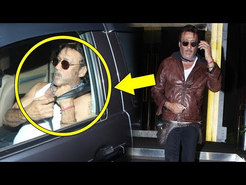 Drunk Jackie Shroff Spotted In बनियान At Rohini Iyer's Birthday Party