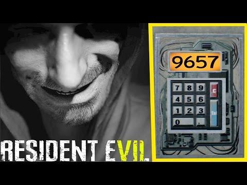 Resident Evil 7 - Entering Code