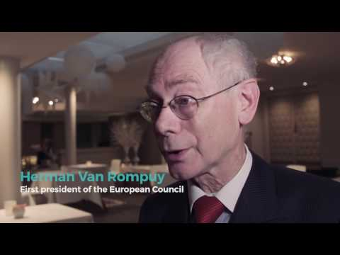 Herman Van Rompuy - First president of the European council and former prime Minister of Belgium