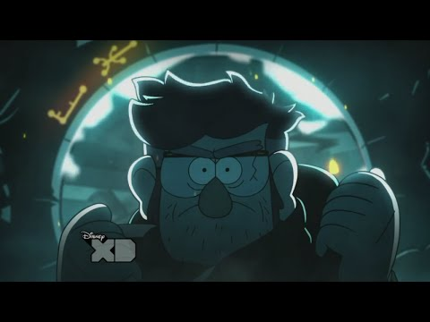 Gravity Falls: Epic Final Scene - The Author of the Journals
