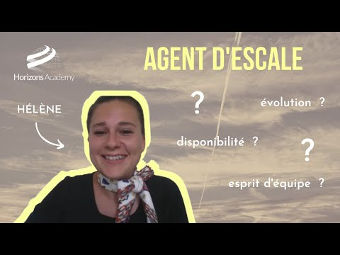 NOS ANCIENS ELEVES VOUS EN PARLENT - Hélène, agent d'escale