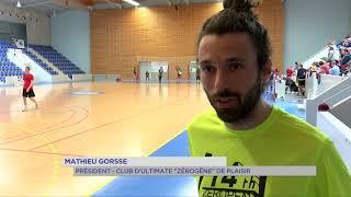 Plaisir : le Zéropen, le plus grand tournoi indoor d'Ultimate en Île-de-France