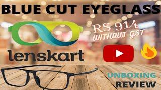 Unboxing | Vincent Chase Eyeglass From Lenskart  | Free Frame