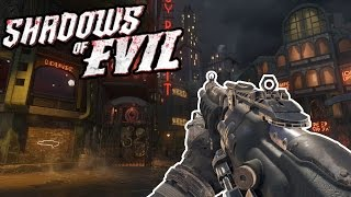 'SHADOWS OF EVIL' FLAWLESS WALL WEAPONS ONLY HIGH ROUNDS CHALLENGE! - BO3 Zombies! HOTEL STREAM!