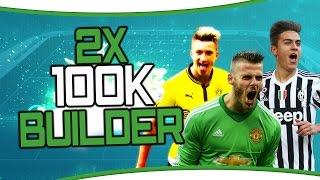 FIFA 16 | Ultimate Team | Double 100k NLW Squadbuilder - Billig & Beastig! Liga 1 Teams!