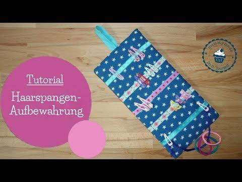 Haarspangen-Aufbewahrung | Utensilo | hair accessories storage | DIY Bastelanleitung | mommymade