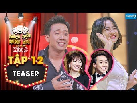 Thách thức danh hài 5   Teaser tập 12: Nữ thí sinh cả gan tỏ tình khiến Trấn Thành, Hari Won tan vỡ?