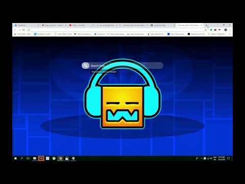 Geometry Dash Scratch Background Theme