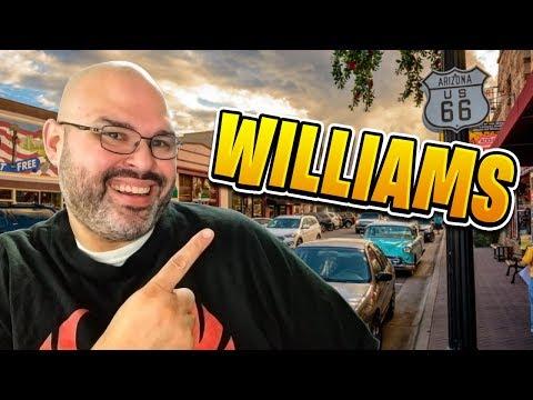 Tour of Downtown Williams AZ